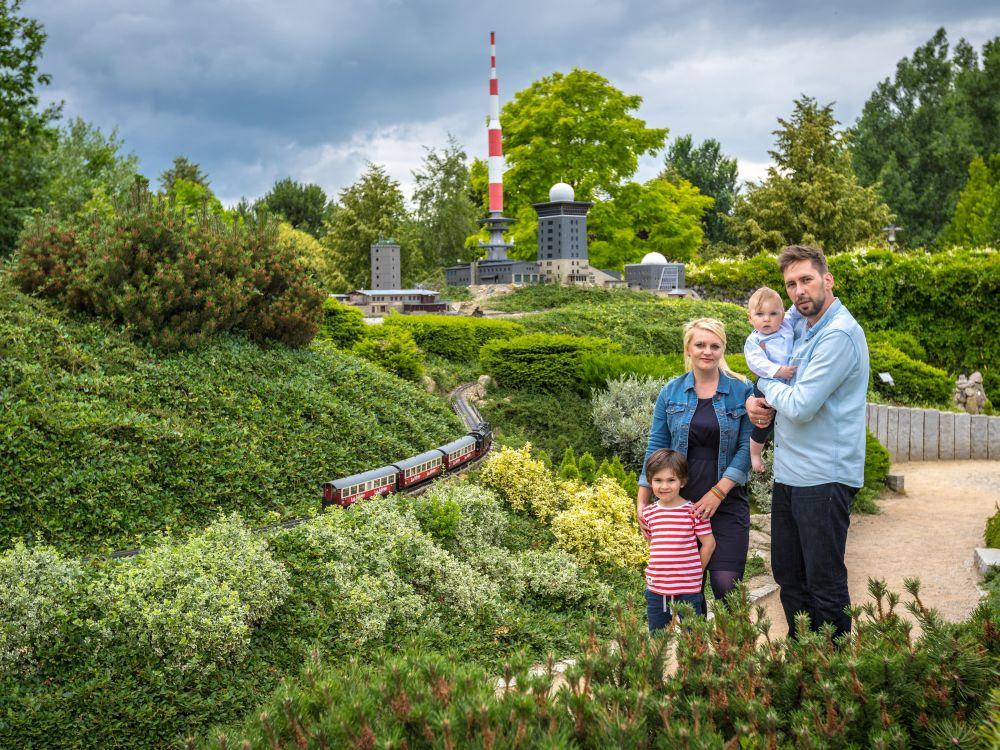 """Familienausflug zum Brocken im """"Kleinen Harz"""""""