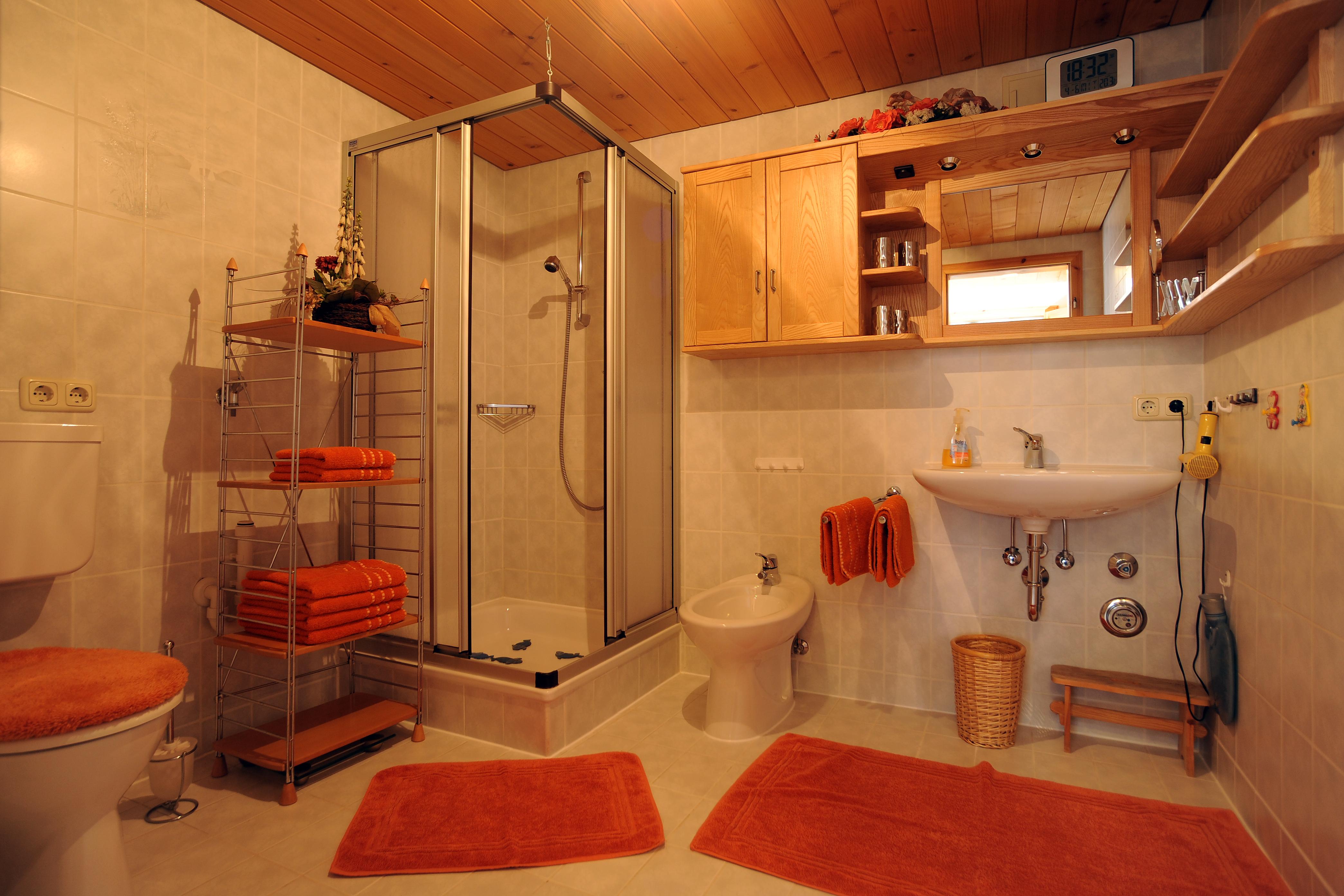 Ferienwohnung Walser, Badezimmer