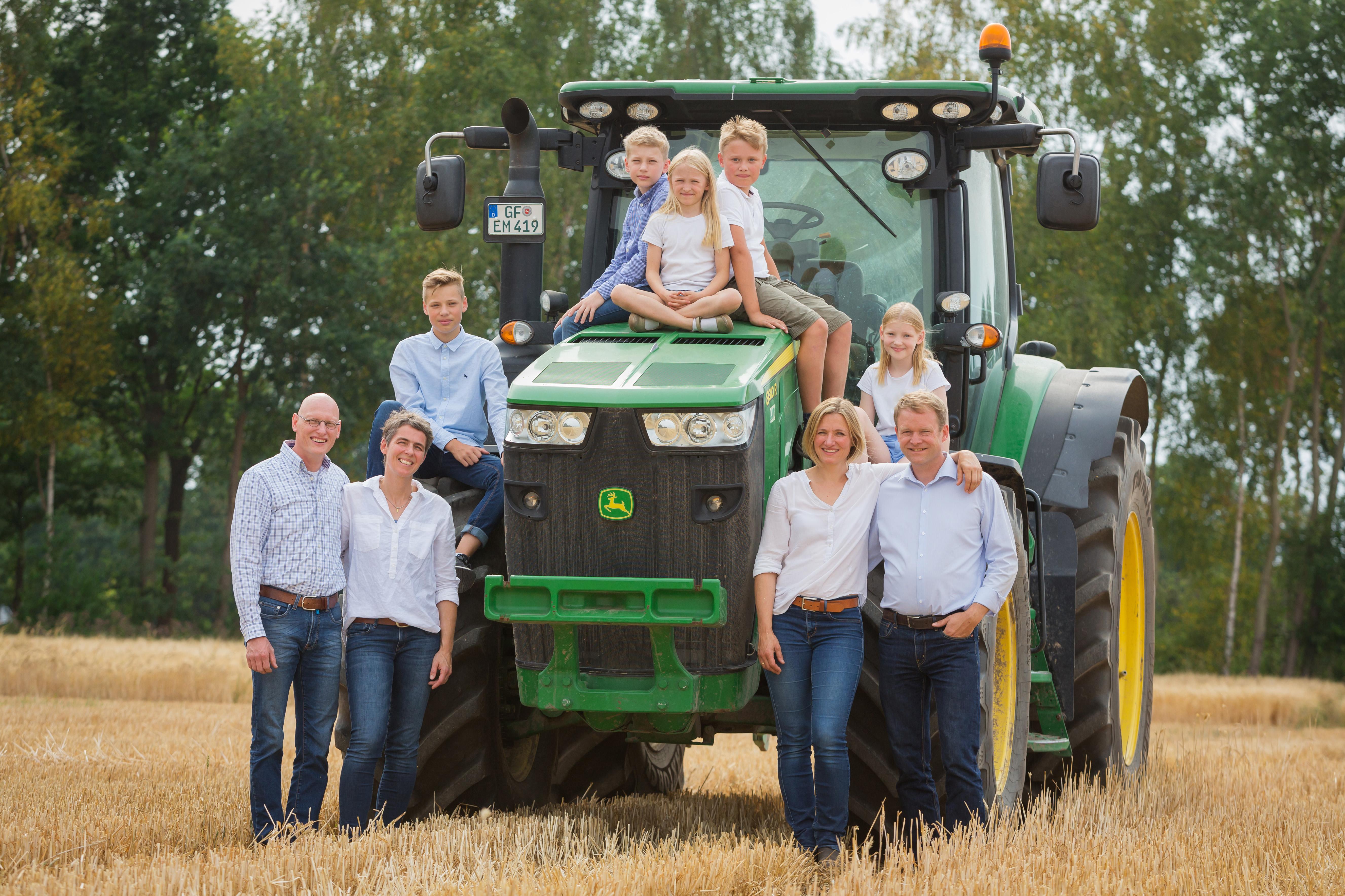 Familien Gaus und Lütje