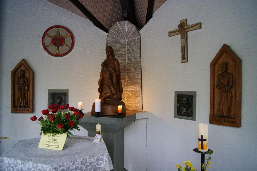 Darstellungen vom hl. Klaus von Flüe und Sel. Adolph Kolping
