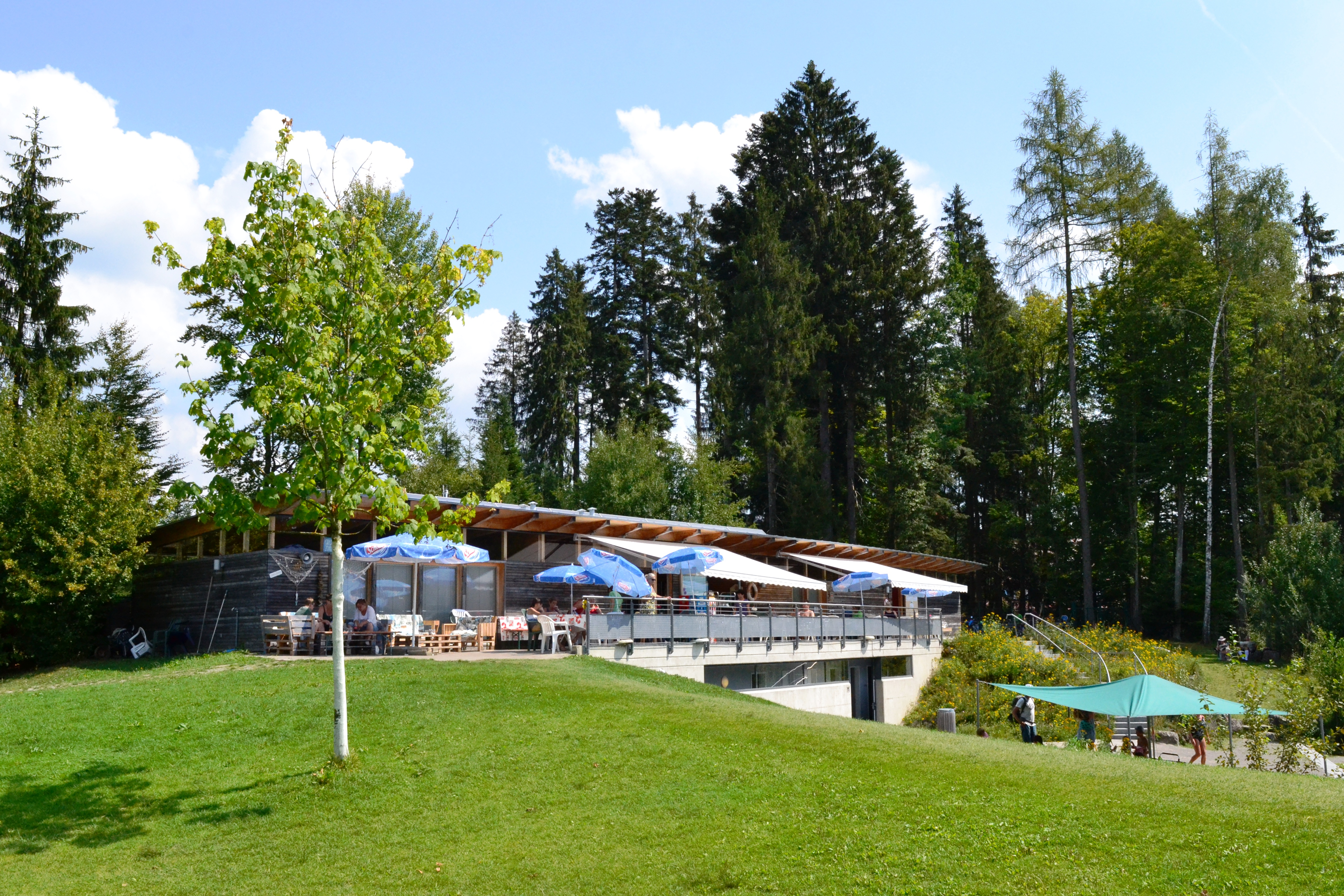 Kiosk am Waldsee