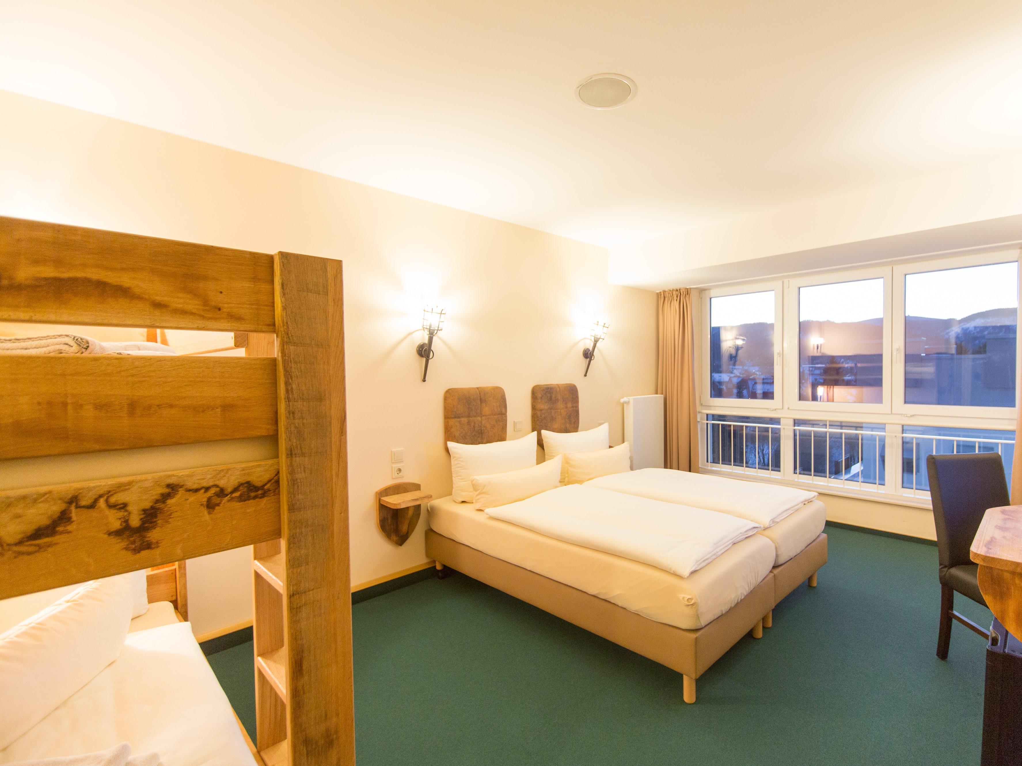 Hasseröder Burghotel in Wernigerode - Familienzimmer