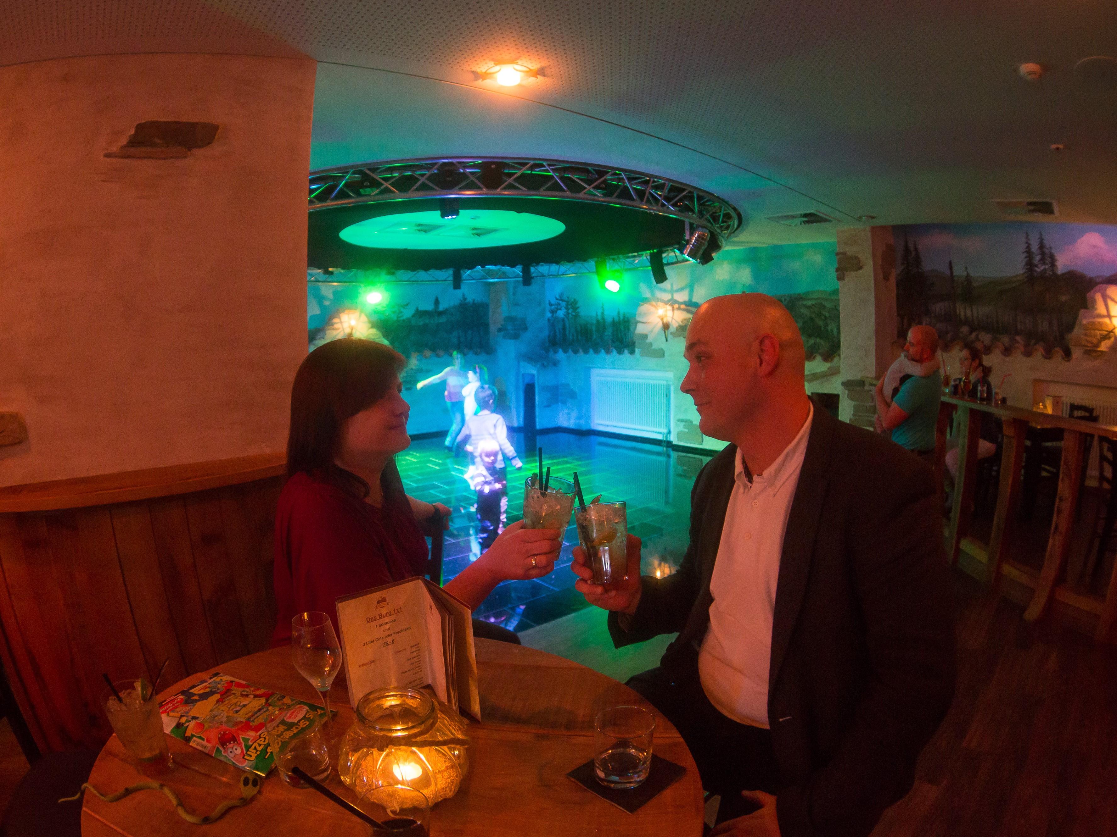 Hasseröder Burghotel in Wernigerode - Restaurant - Sitzecke - Lounge