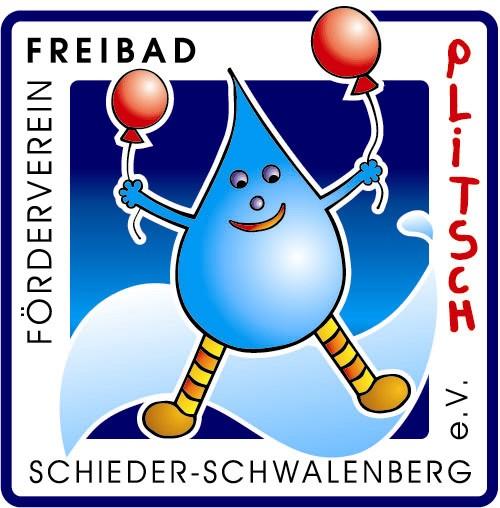 Logo Freibadverein `Plitsch`