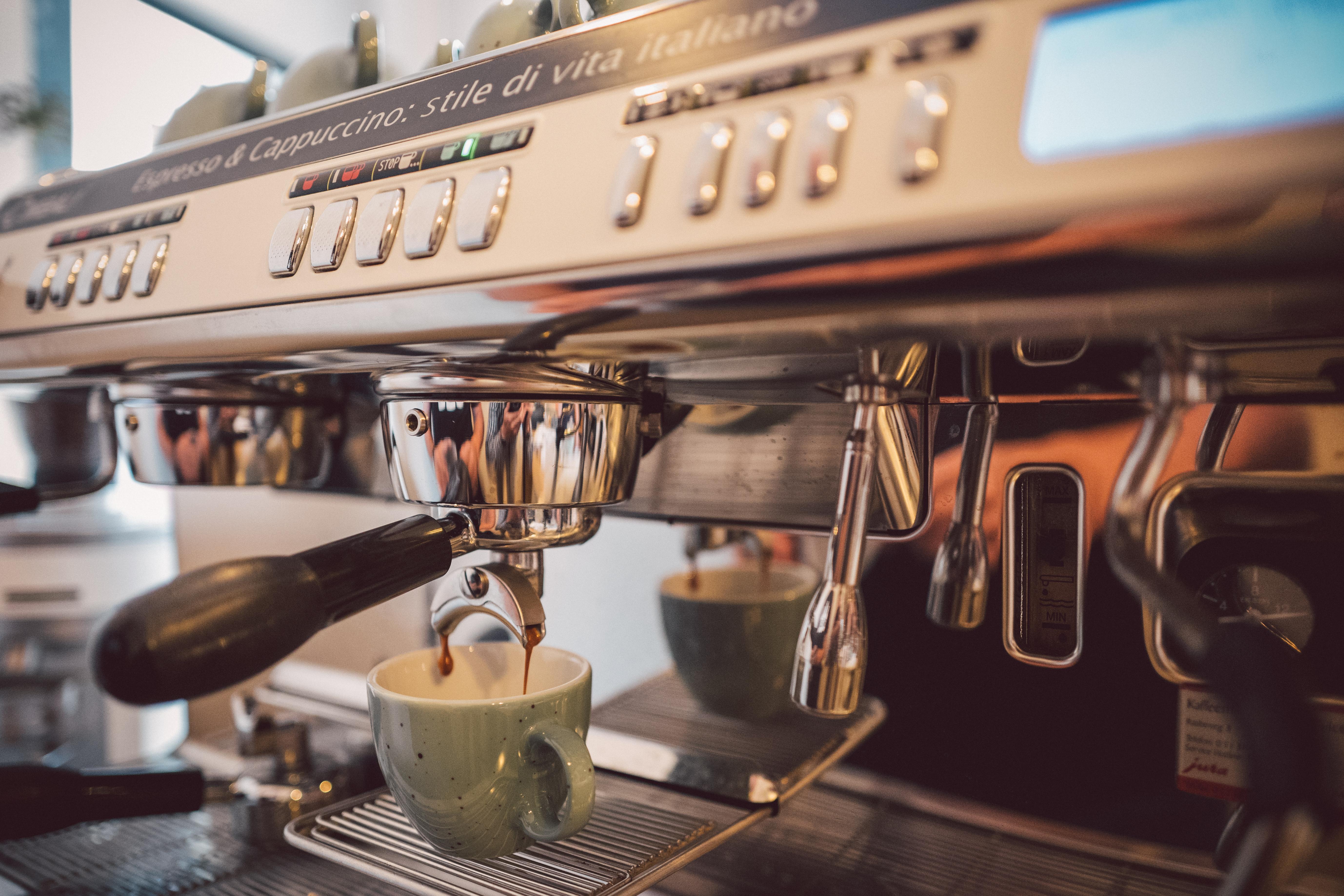 Einbecker Kaffeerösterei_Siebträgermaschine