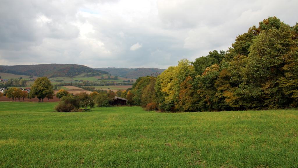 Blick zum Wesertal