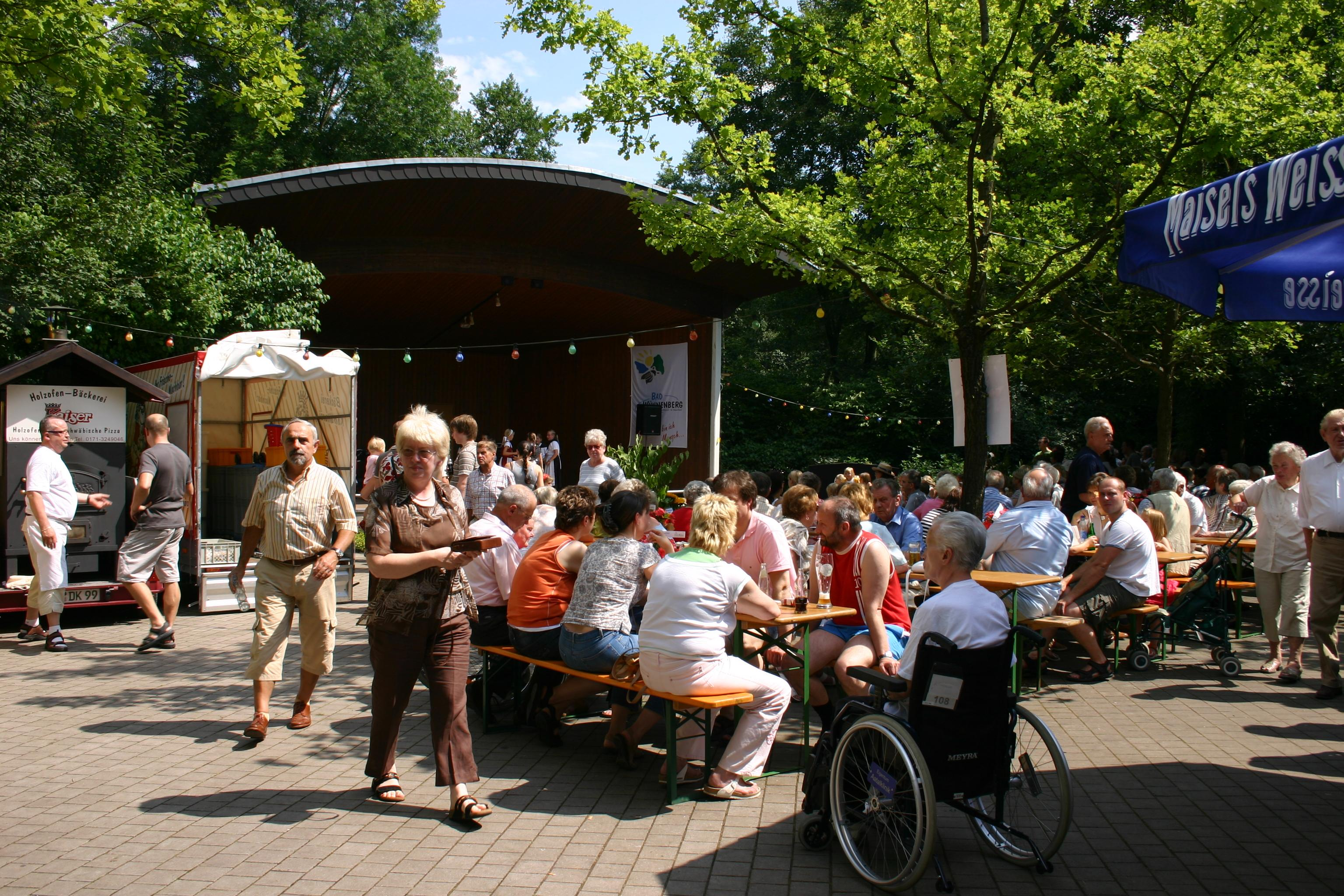 Kurparkfest Bad Wünnenberg