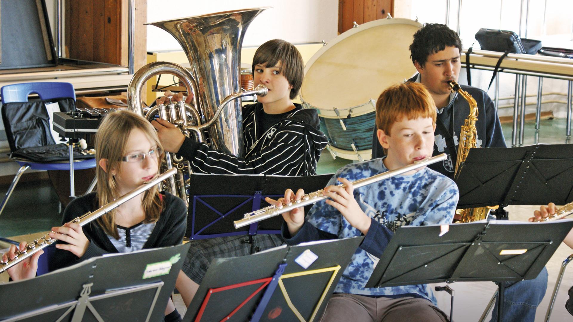 Humboldt-Jugendgästehaus, Orchesterprobe