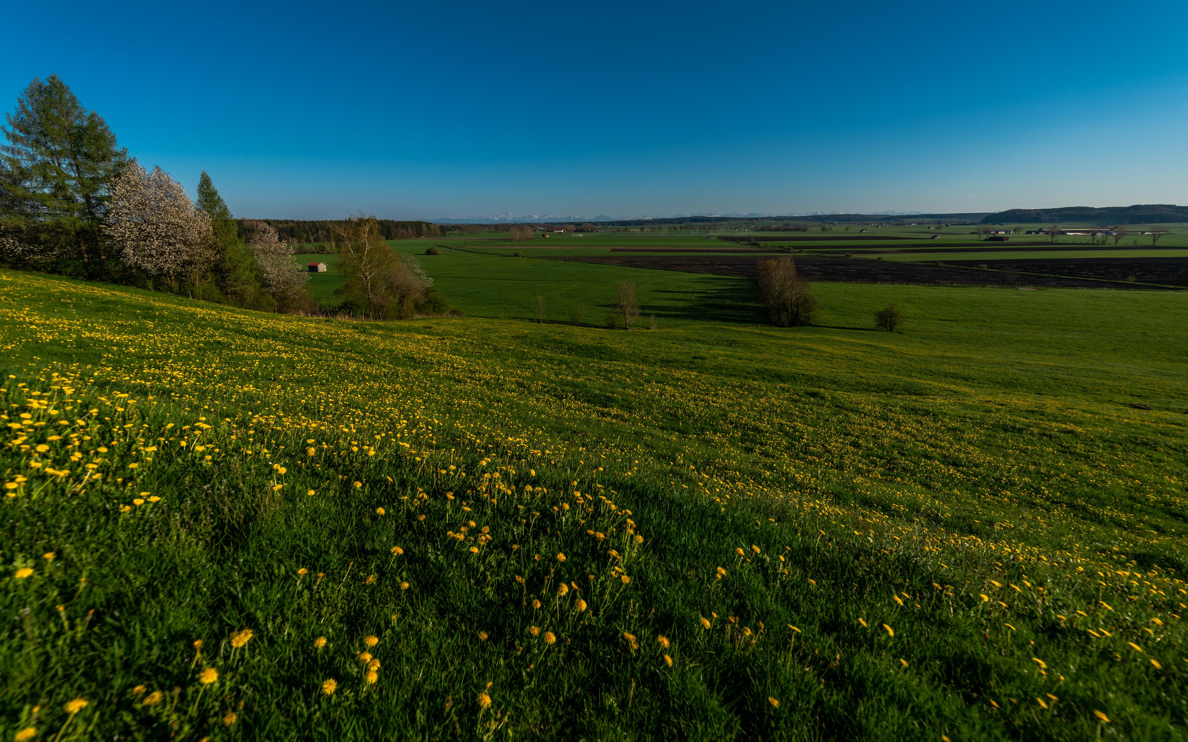 Ausblick Hartenthal im Frühling