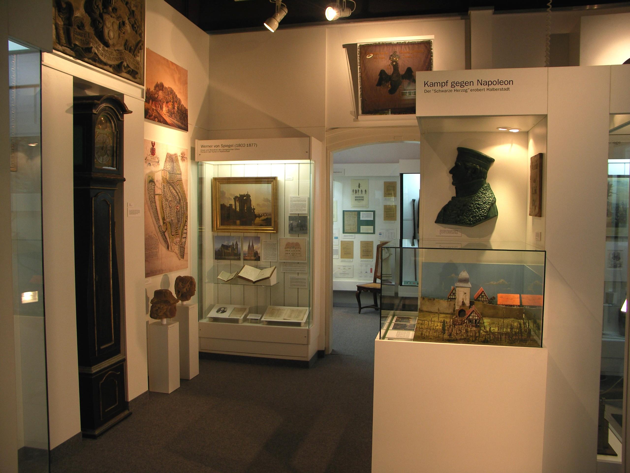 Ausstellung zu den Befreiungskriegen und zur Geschichte der Spiegelschen Kurie im Städtischen Museum Halberstadt