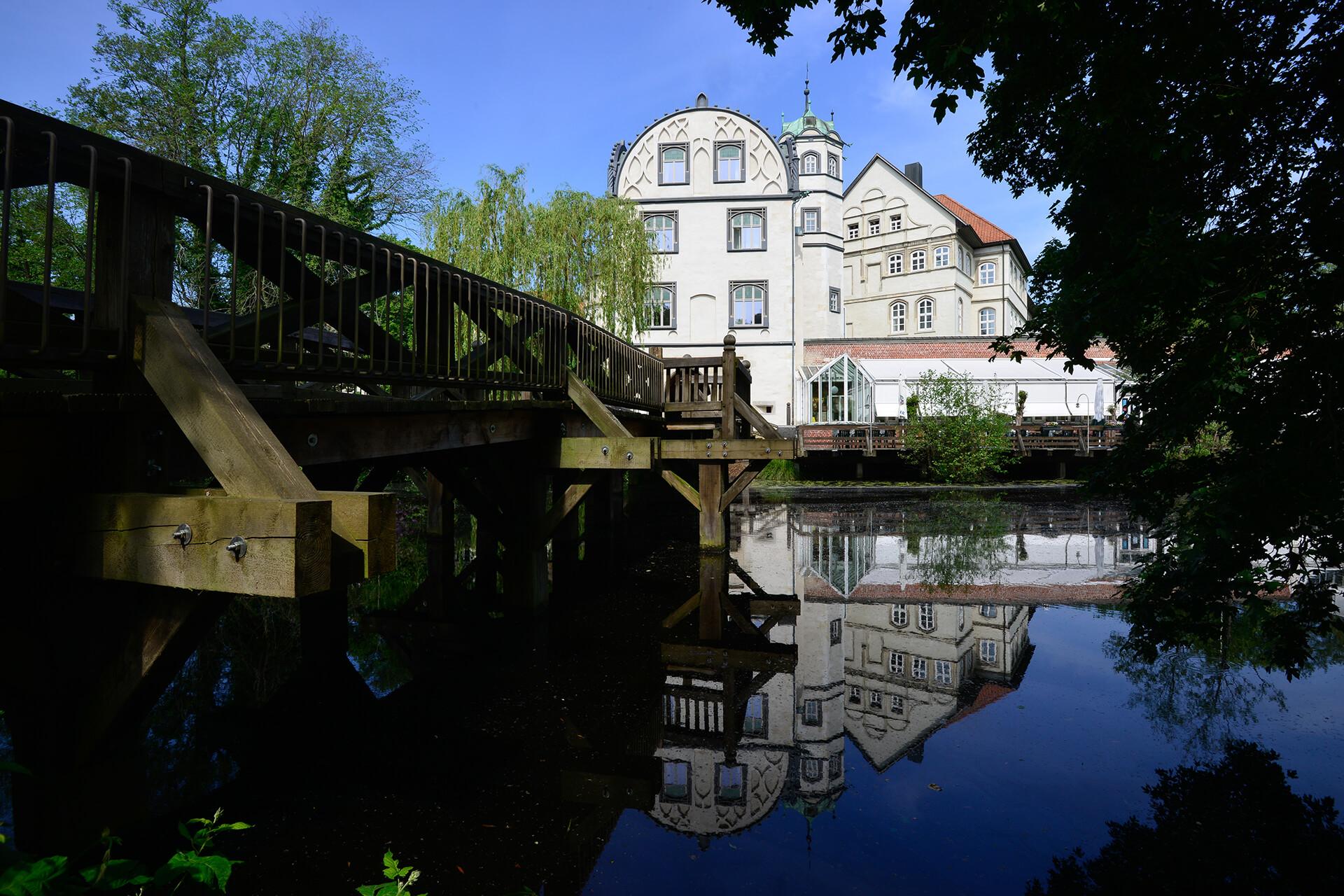 Blick auf das Gifhorner Schloss