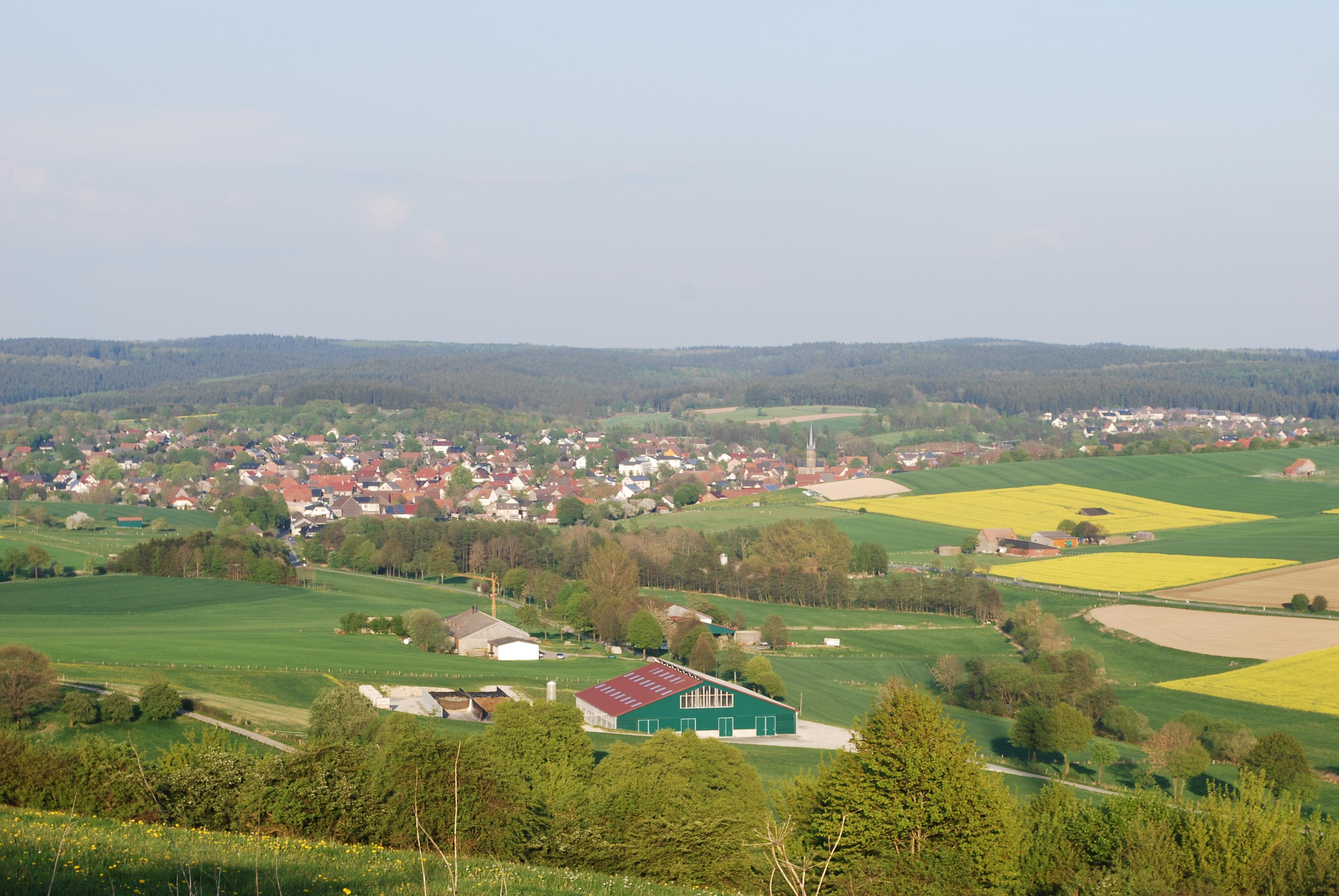 Blick vom Hoppenberg