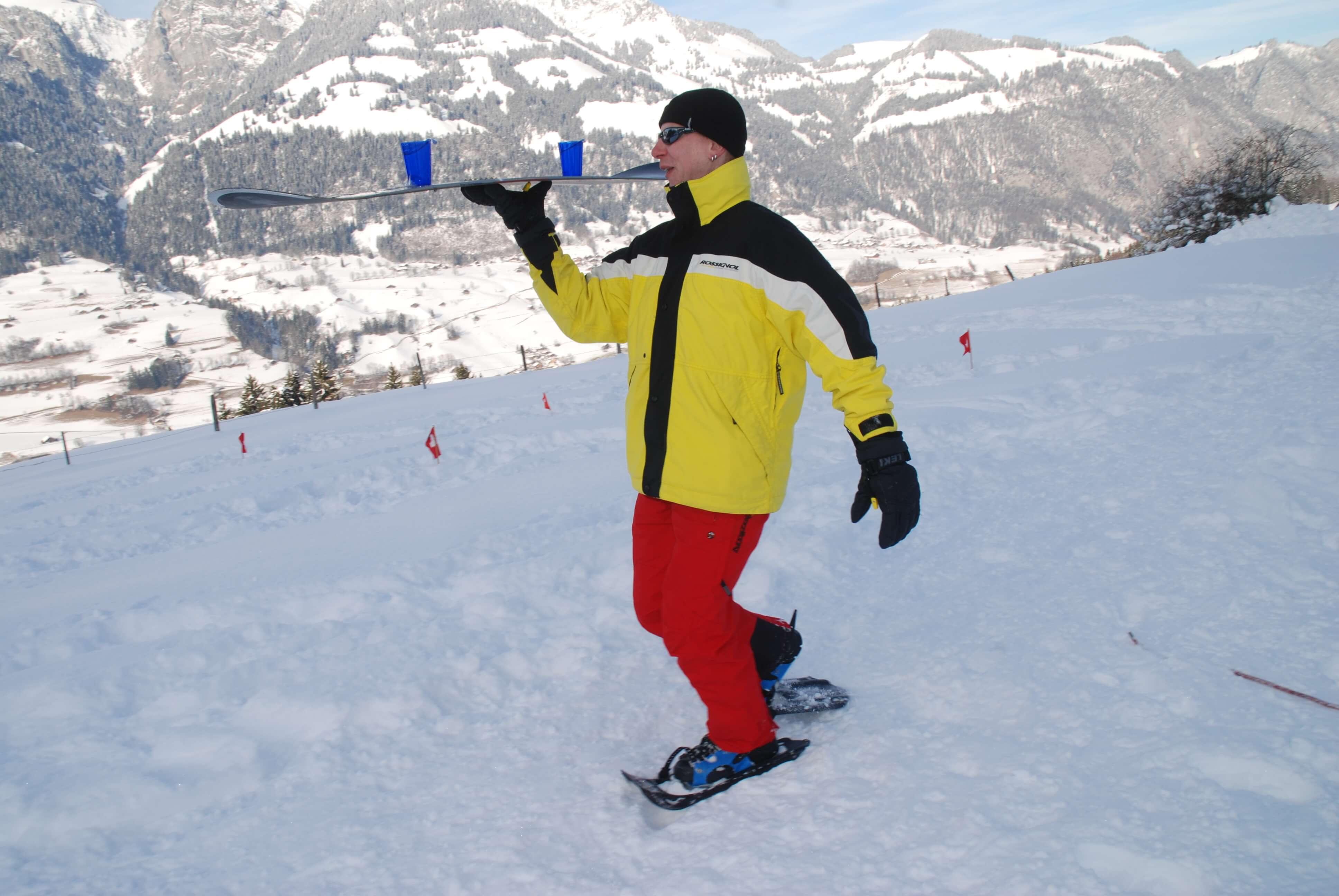 Winterolympiade für Gruppen- und Teamevents