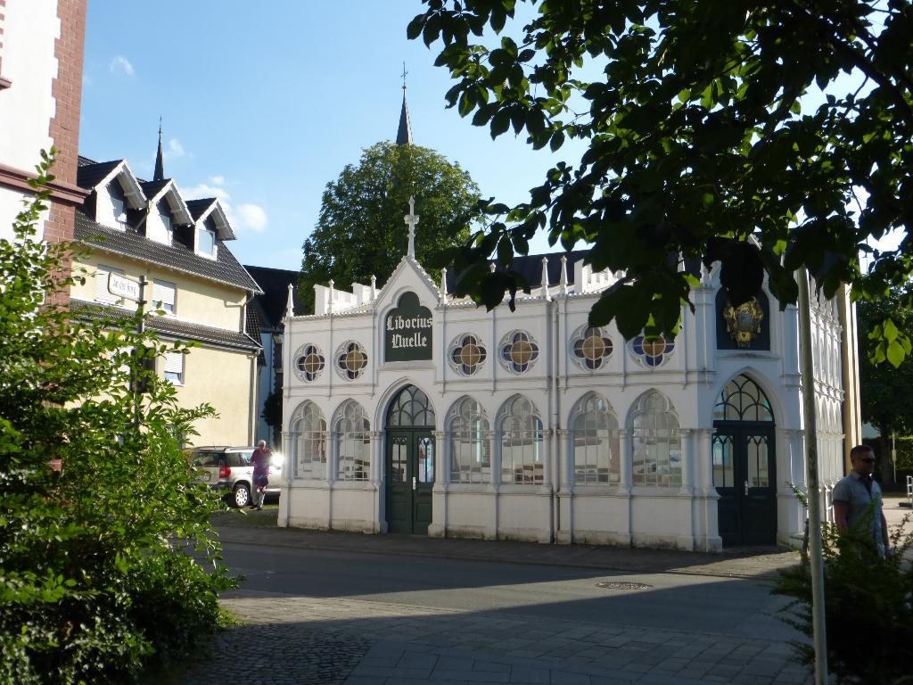 Liborius-Trinkhalle in Bad Lippspringe