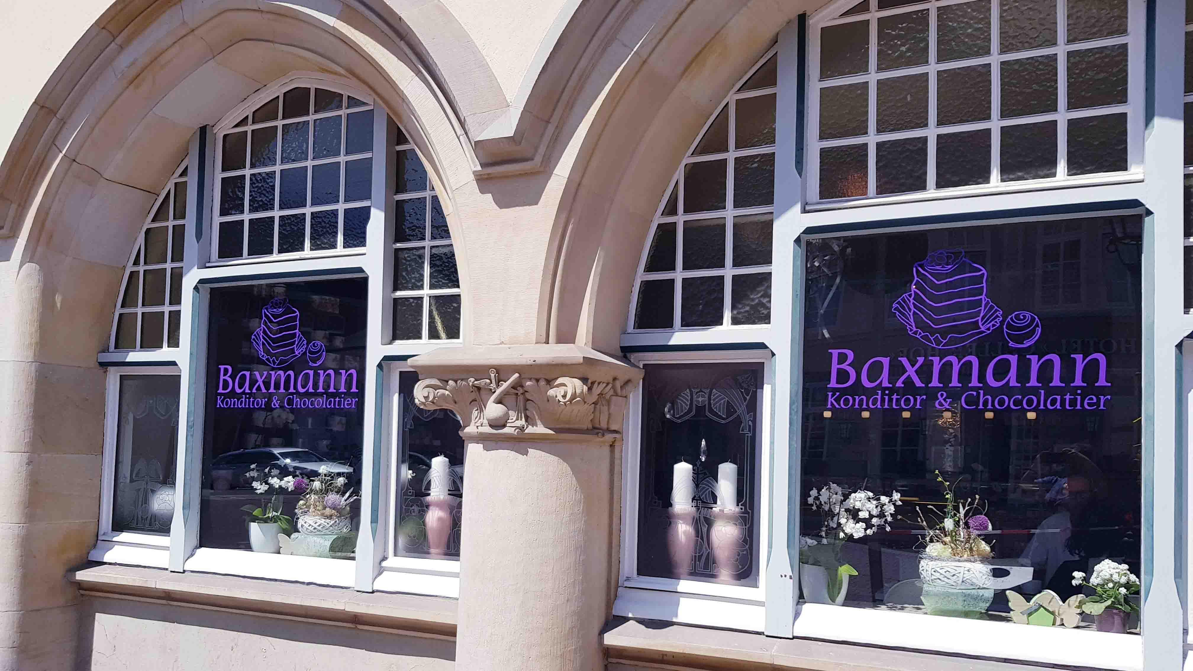 Café Baxmann Celle, Fenster