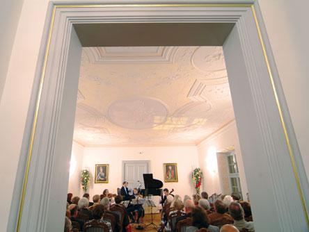 Barocksaal im Vöhlin-Schloss