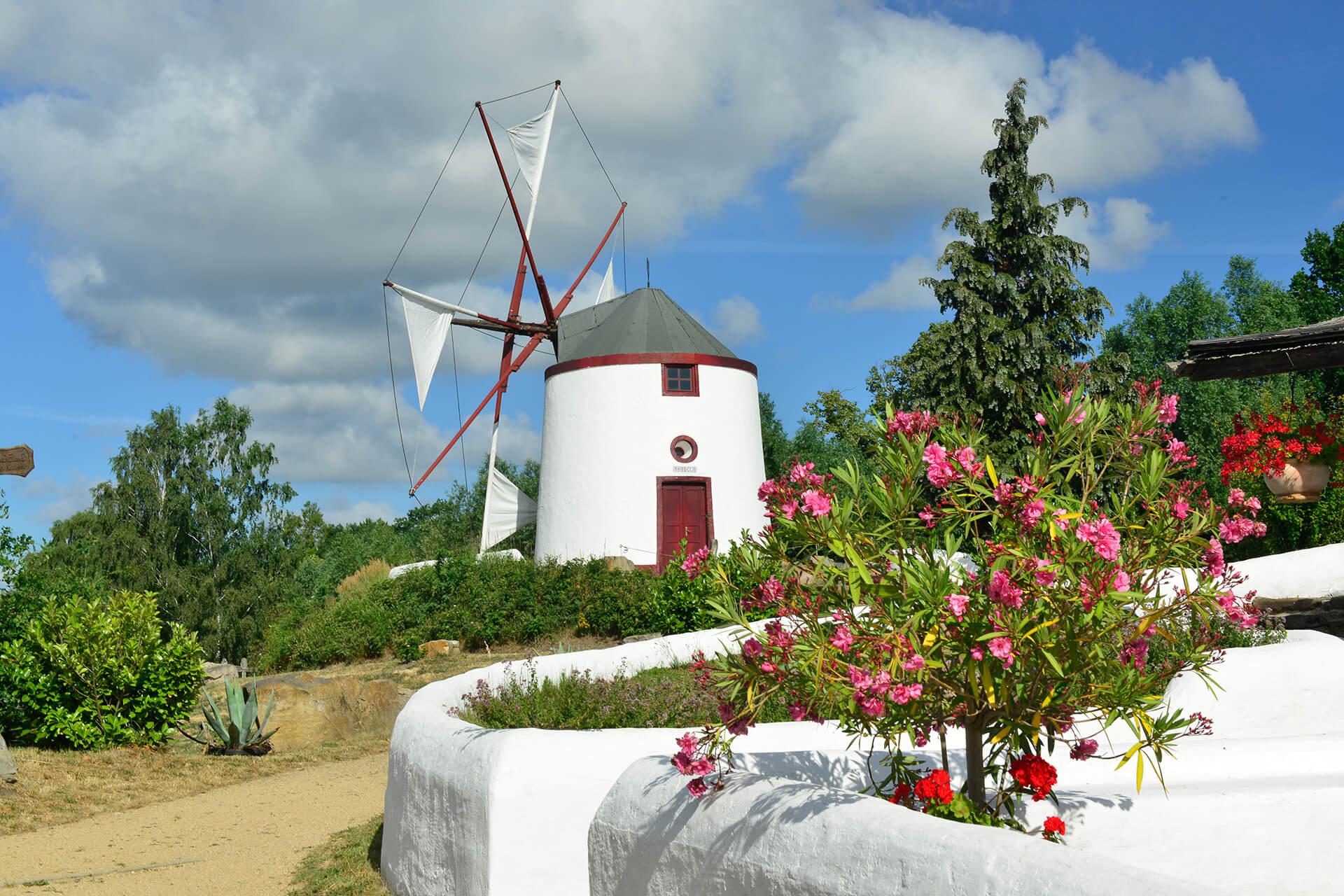 Portugiesisch Mühle im Mühlenmuseum Gifhorn
