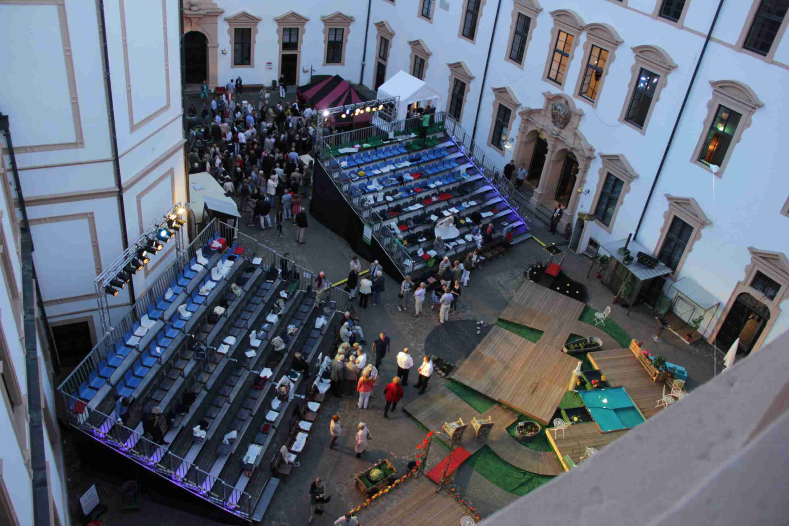 Celler Schlosstheater im Innenhof