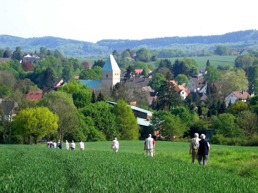 Unterwegs auf dem Bergmannsweg (Foto: Jürgen Benne)