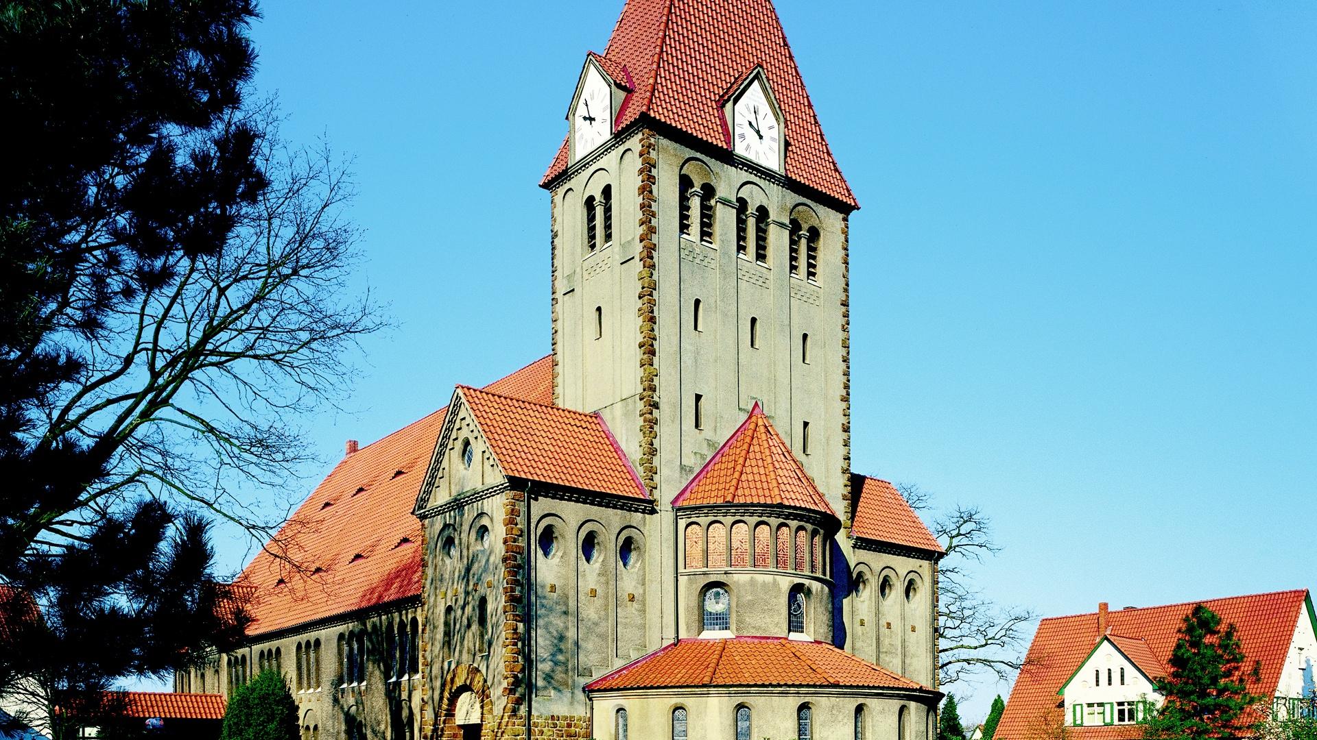 Die Kirche in Obernbeck