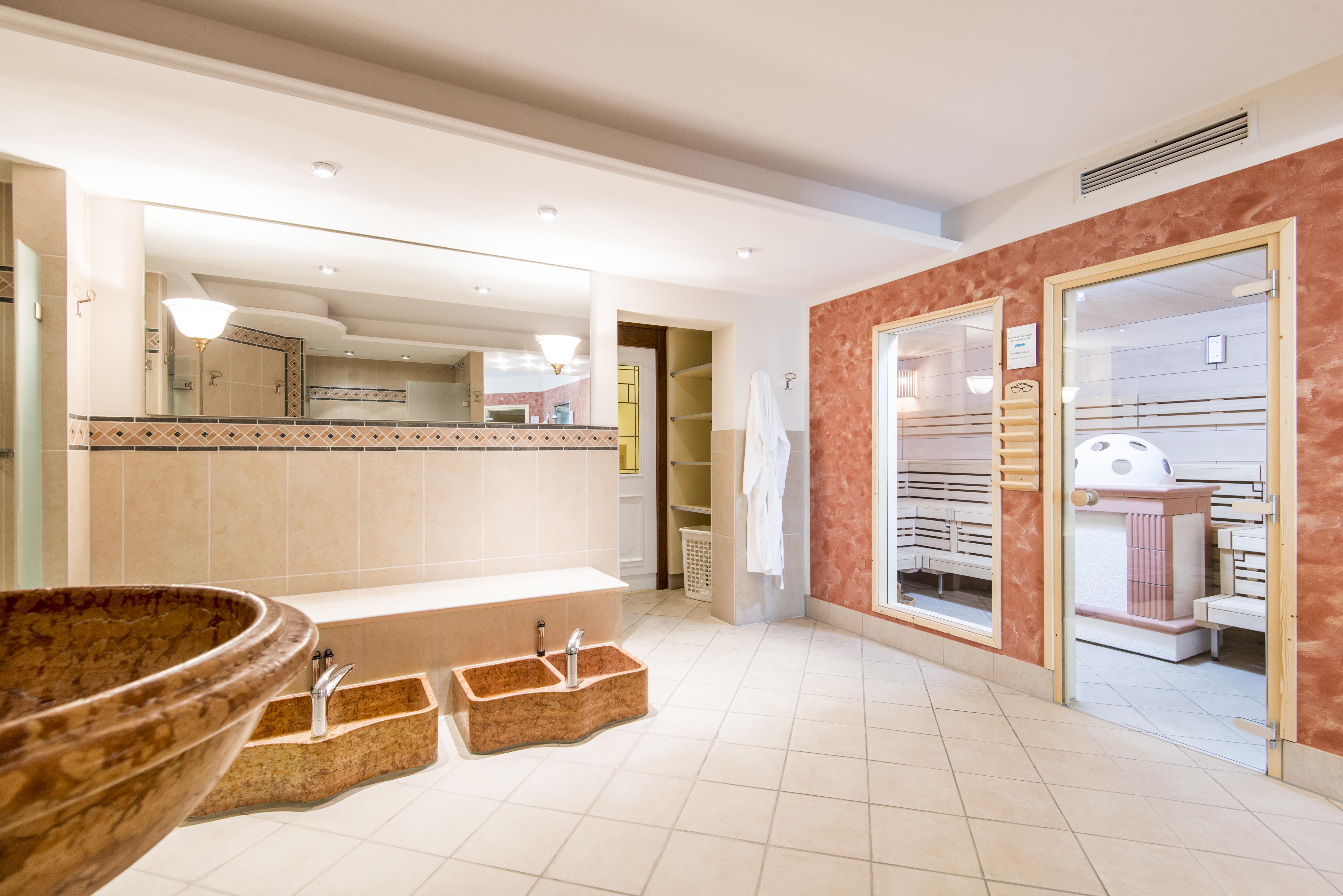 Saunabereich im Celler Tor