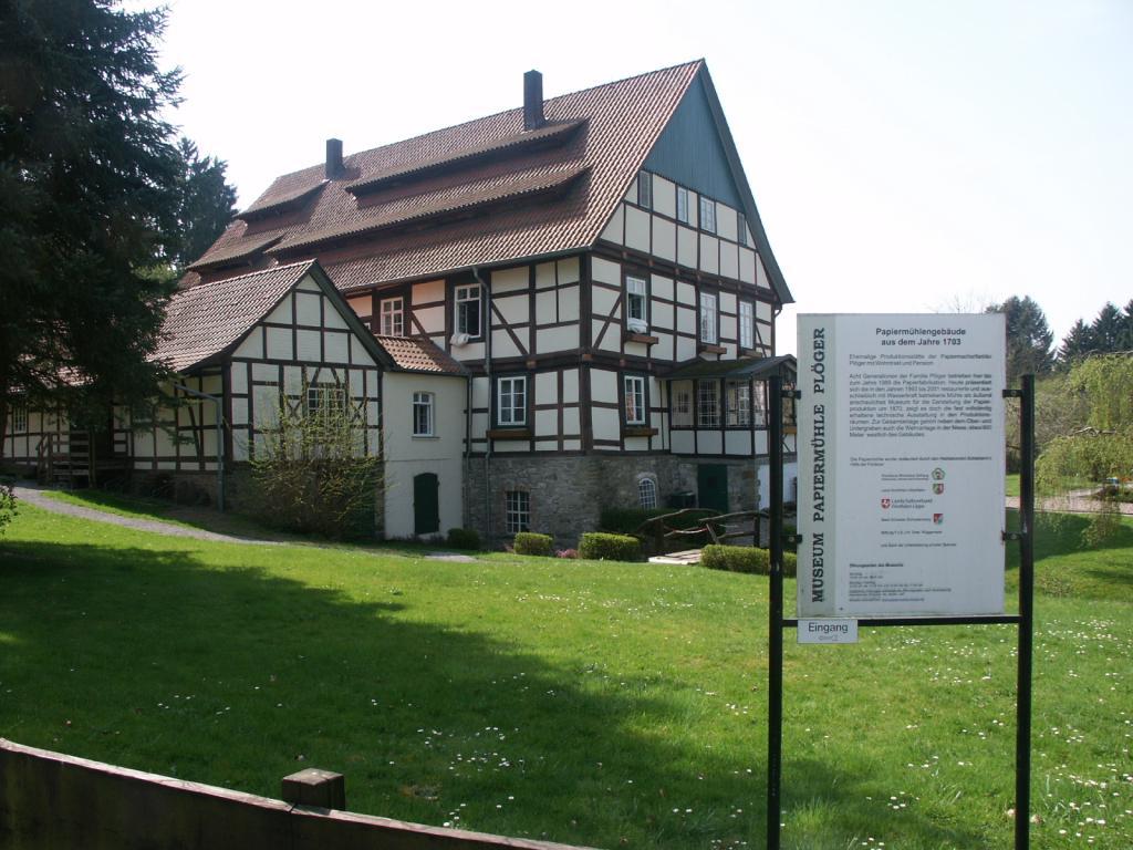 Technisches Kulturdenkmal Papiermühle Plöger