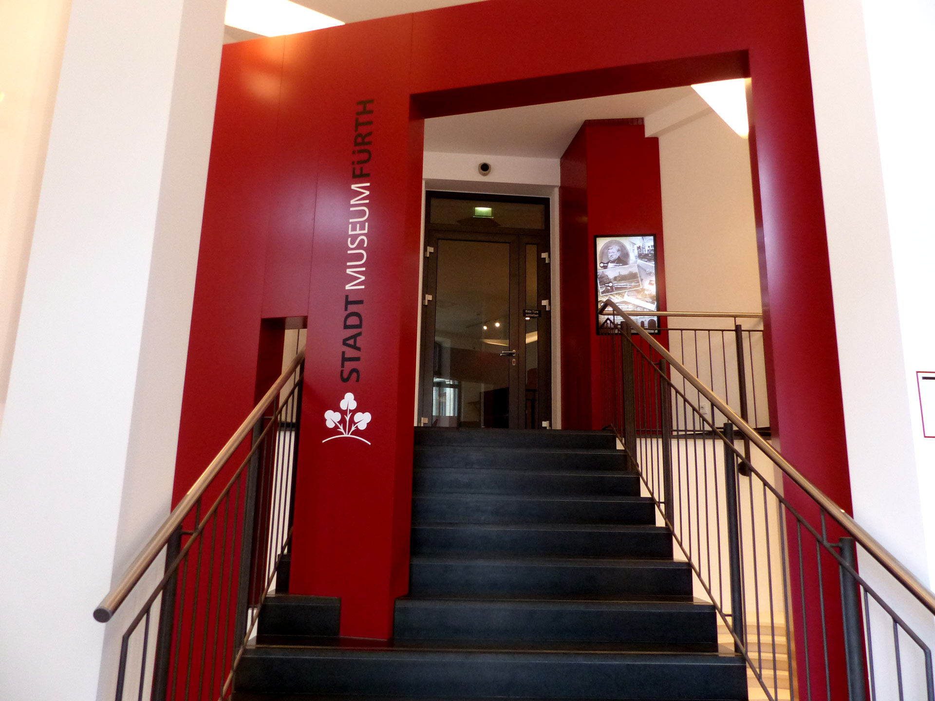 Eingangsbereich Stadtmuseum Fürth