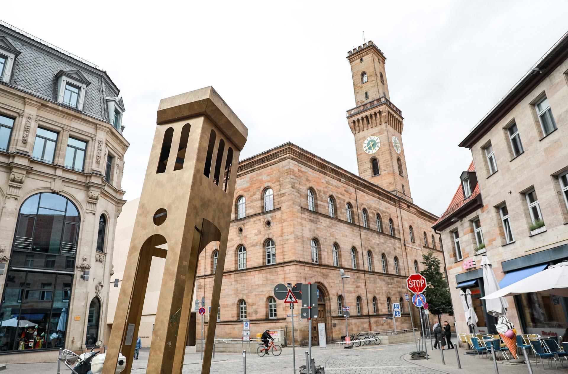 Rathaus vom Kohlenmarkt aus