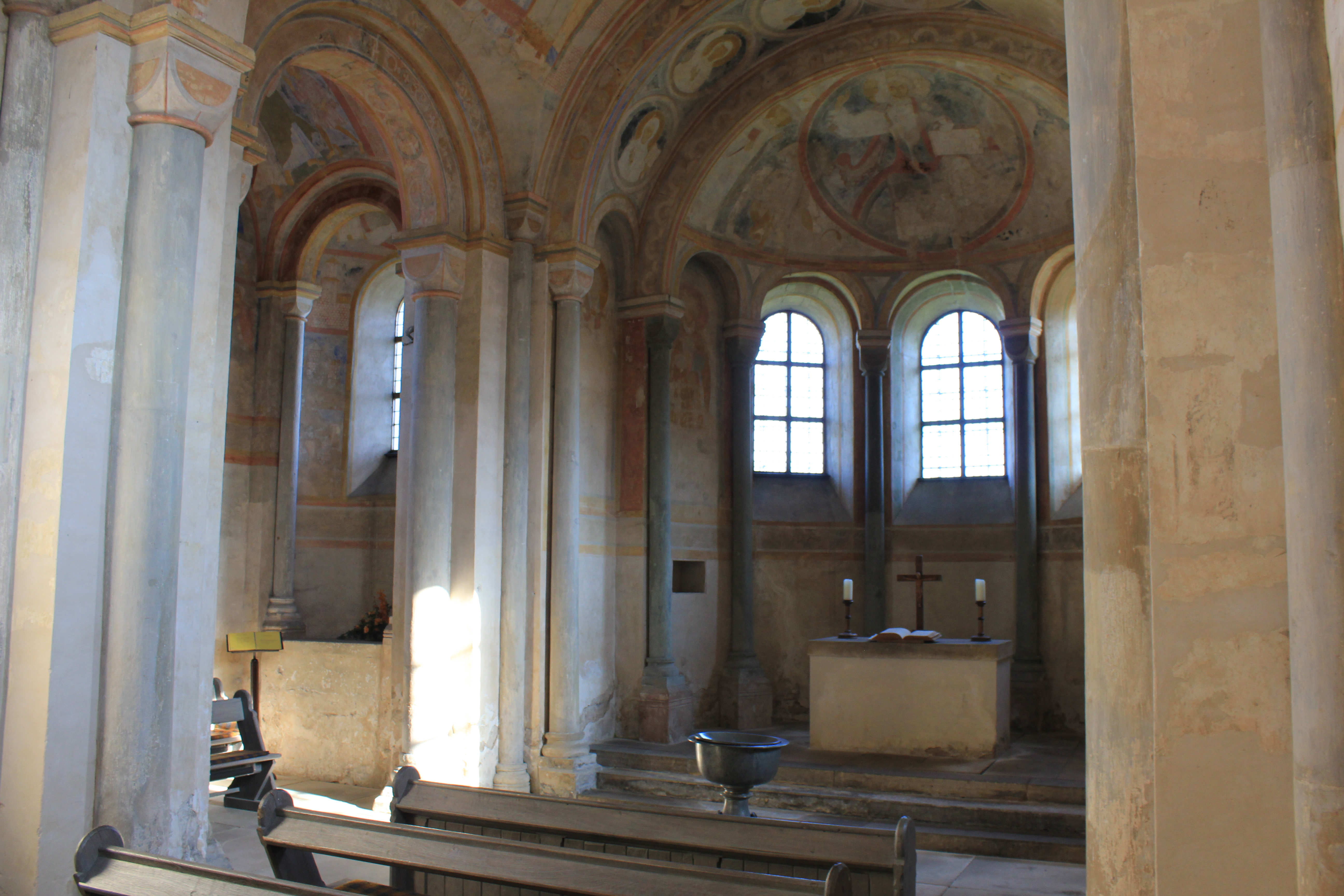Altarraum Sigwardskirche