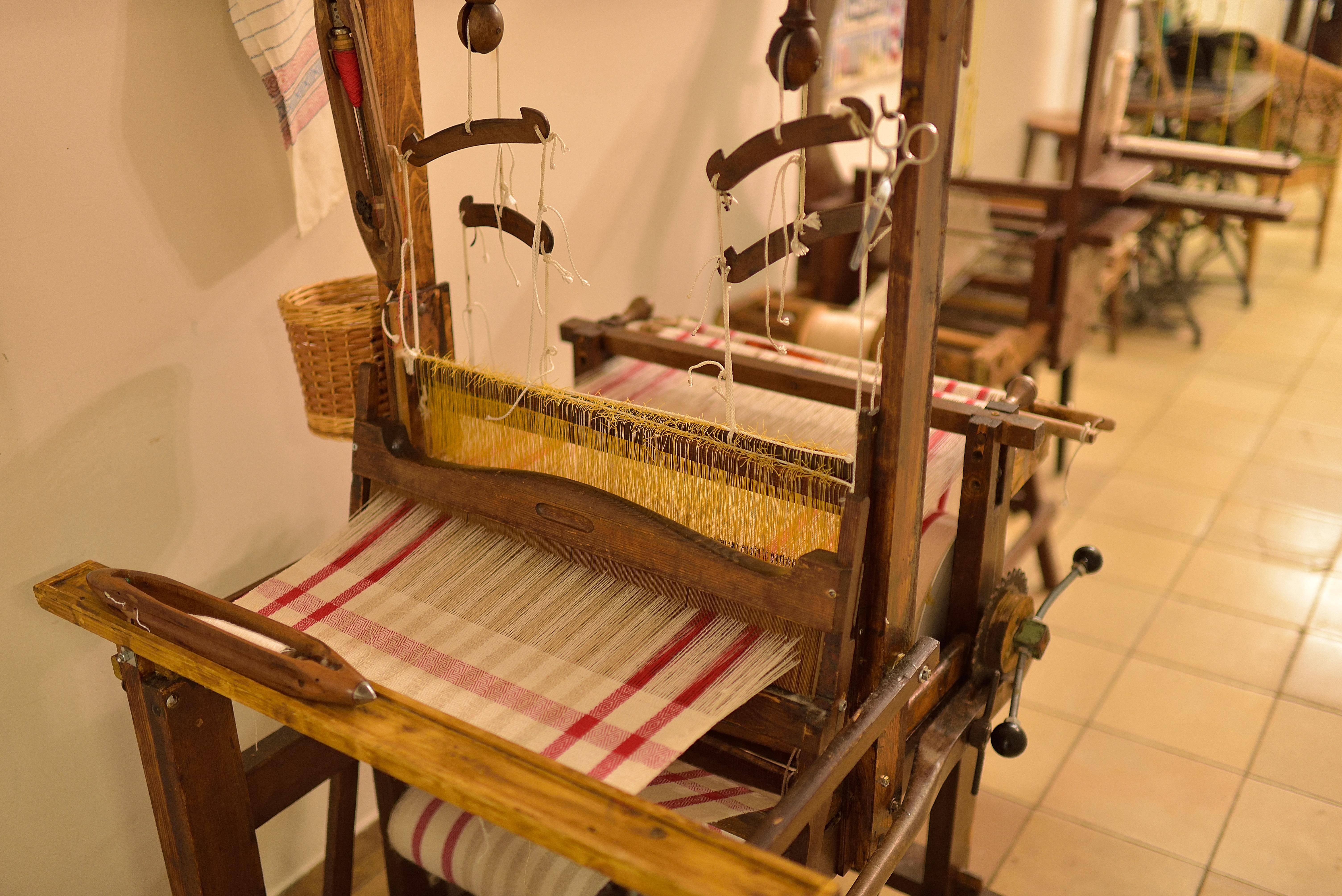 Webstuhl Web- und Textilmuseum