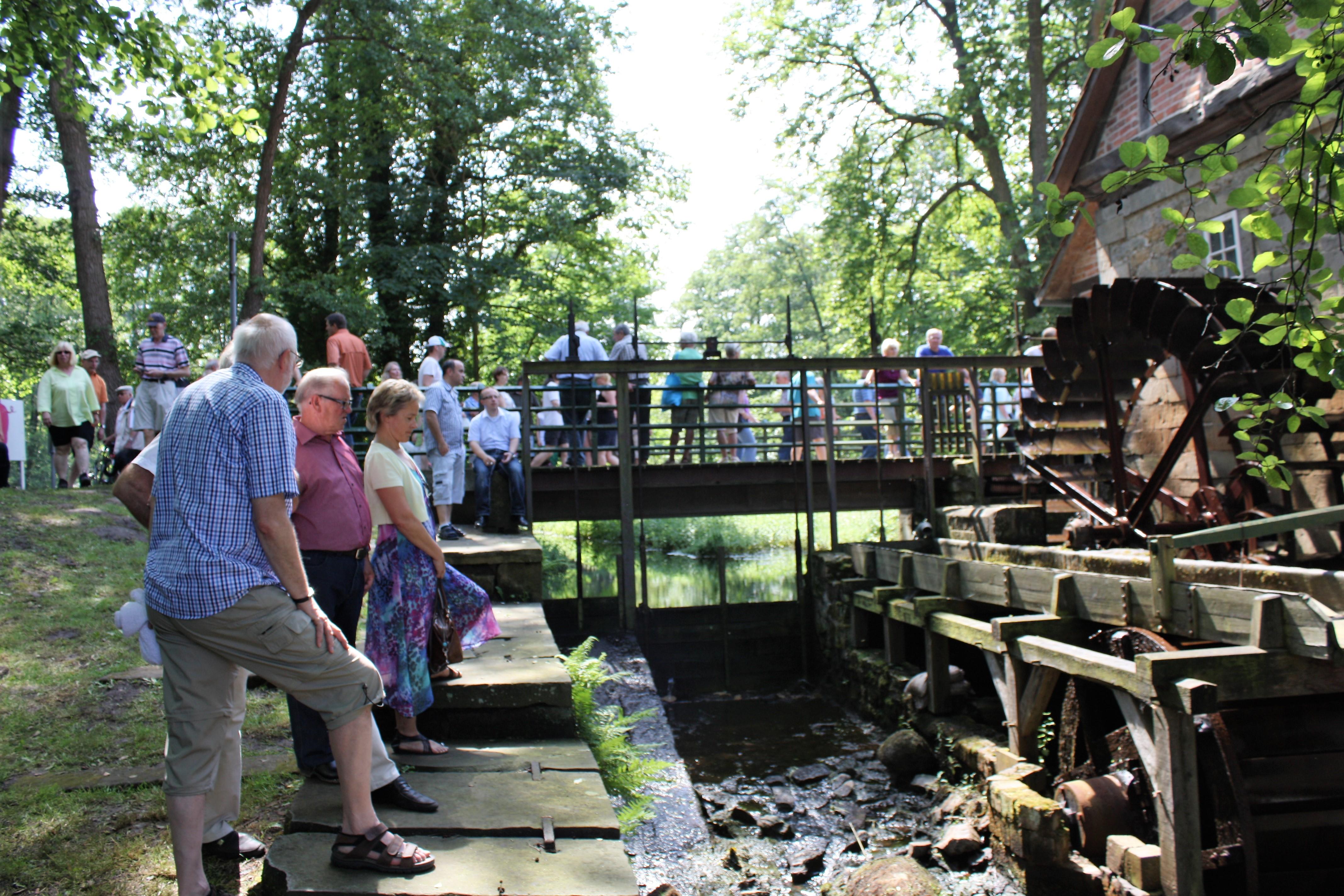 Wassermühle Laderholz