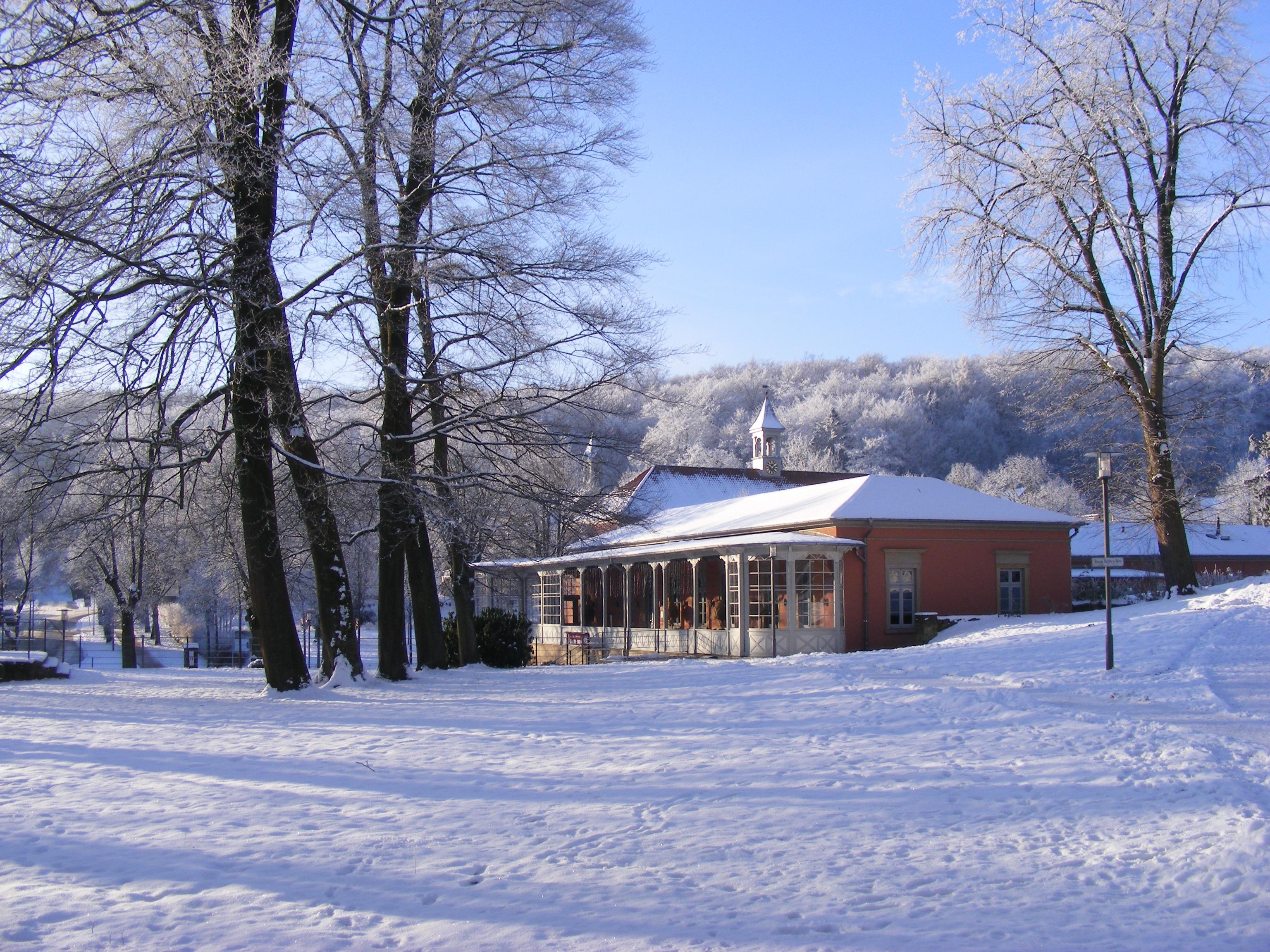 Winterbild Romantik Bad Rehburg