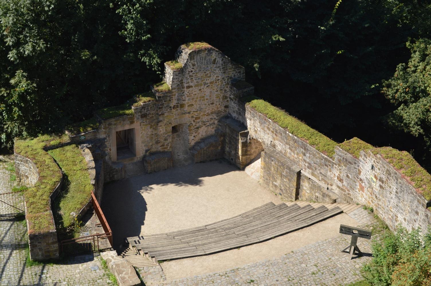 Burg Ravensberg - Amphietheater