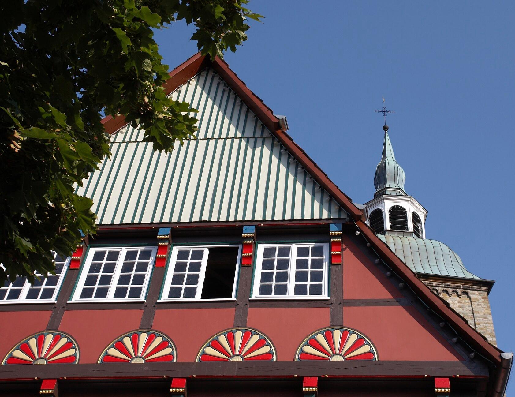 Historisches Fachwerkhaus in Wiedenbrück