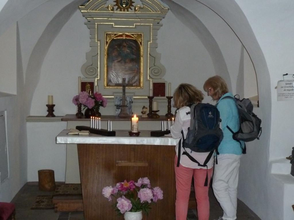 """Innenraum der Kapelle """"Zur Hilligen Seele"""""""