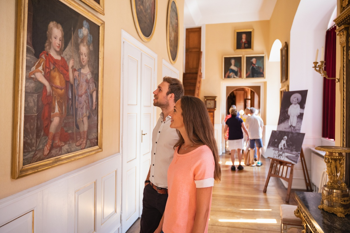 Fürstliches Residenzschloß Detmold- Innenaufnahme Galerie