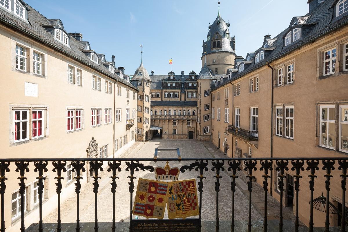 Fürstliches Residenzschloß Detmold - Innenhof