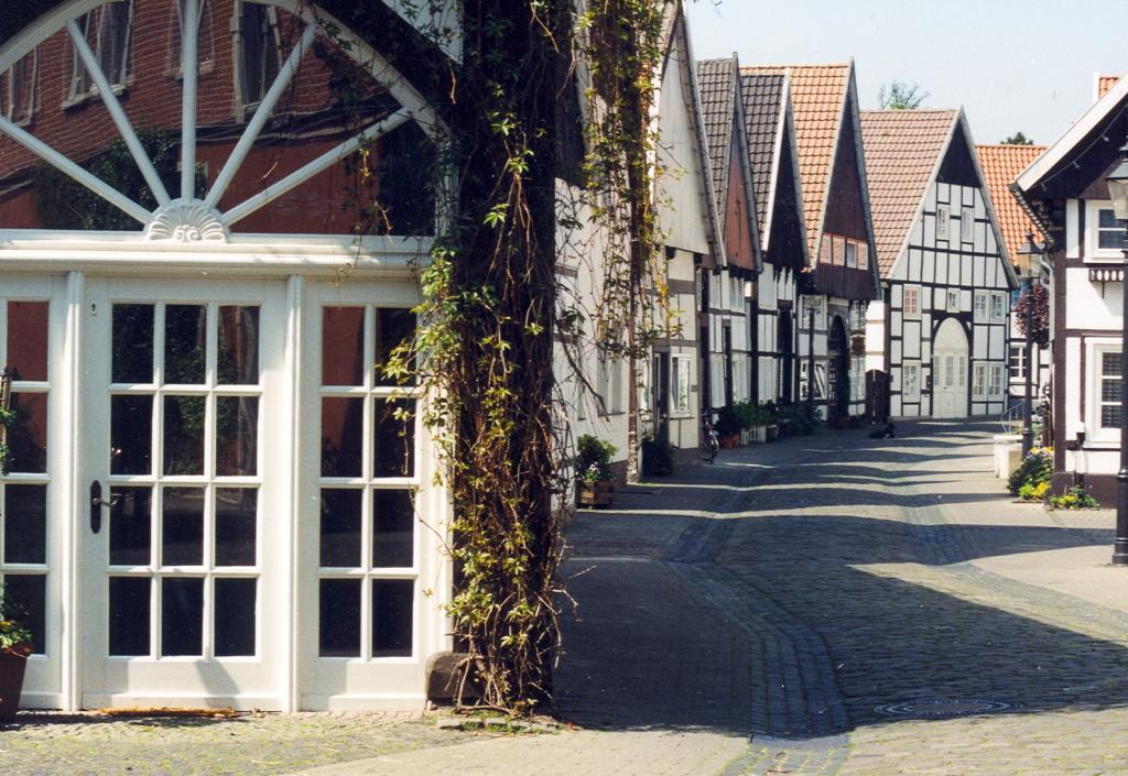 Fachwerkhäuser in der Altstadt Rheda