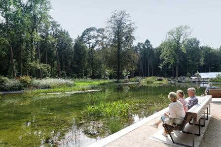 Mersmannteiche im Gartenschau-Gelände Bad Lippspringe
