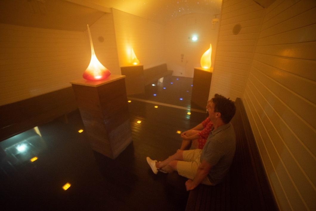 Nebelkammer im ErlebnisGradierwerk Bad Salzuflen