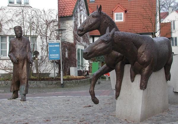 "Halle Westfalen, Denkmal ""Haller Willem"""