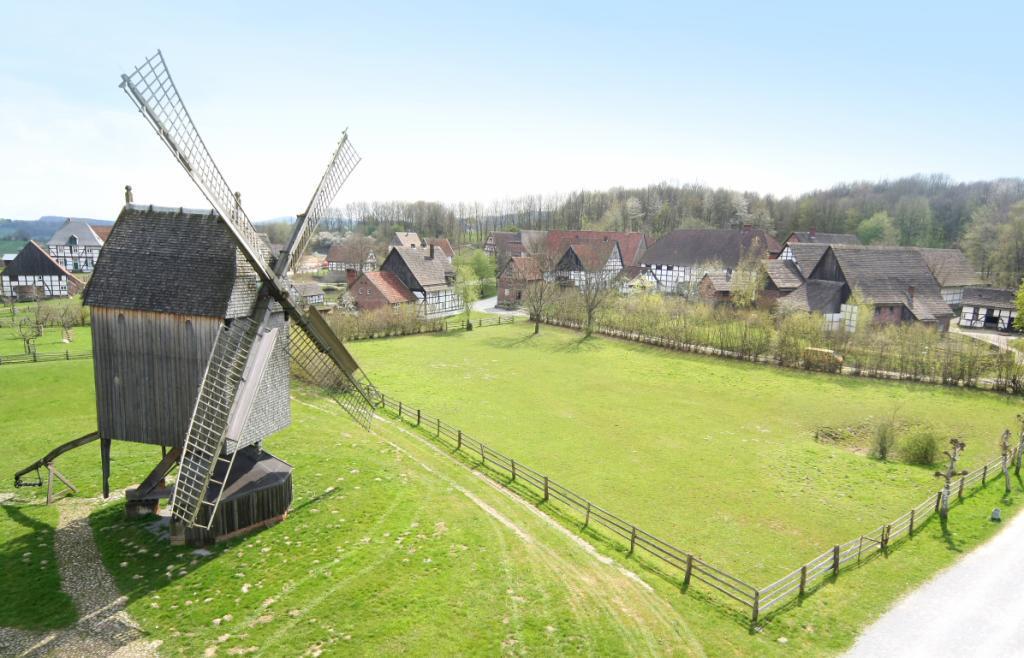 Luftbild LWL-Freilichtmuseum