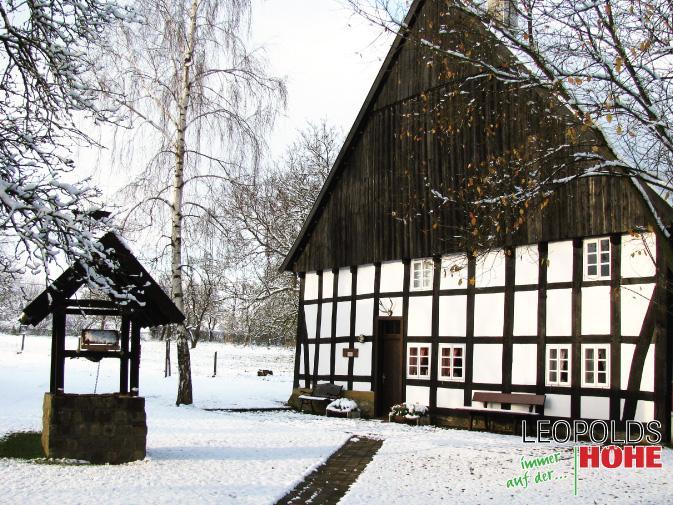Heimathof im Winter