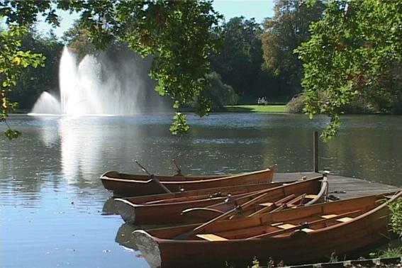 Bootsverleih am Kurparksee