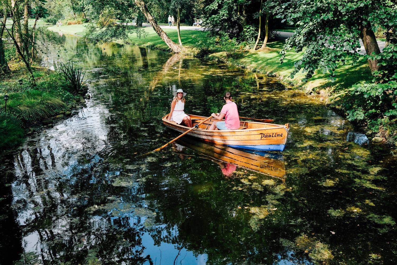 Staatsbad Salzuflen - Kurpark Ruderboot