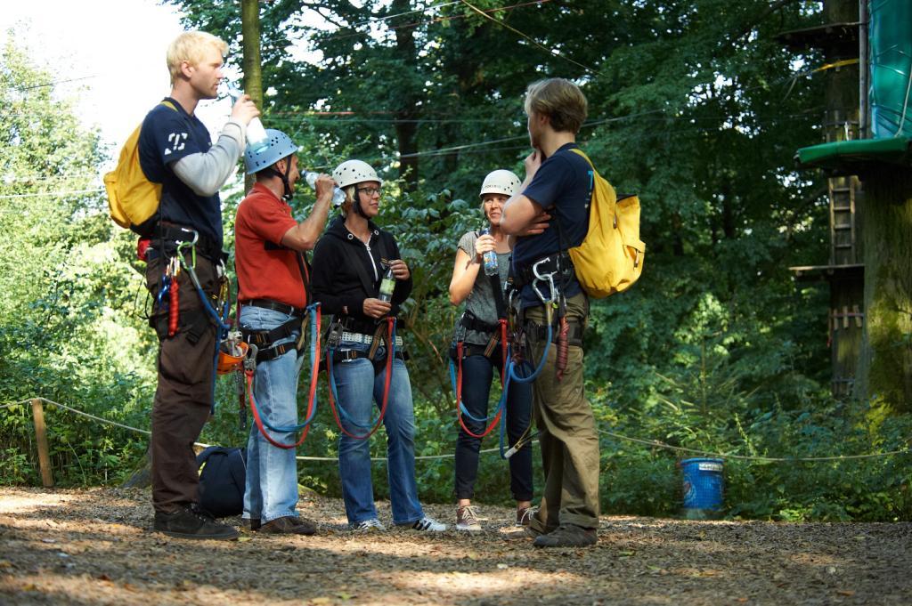 Teuto-Kletterpark am Hermannsdenkmal
