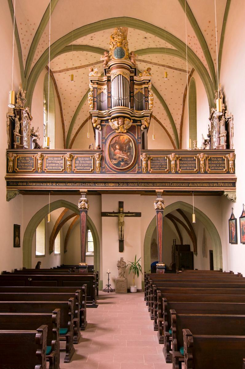 Ehemalige Klosterkirche St. Simon und Juda, Warburg-Wormeln