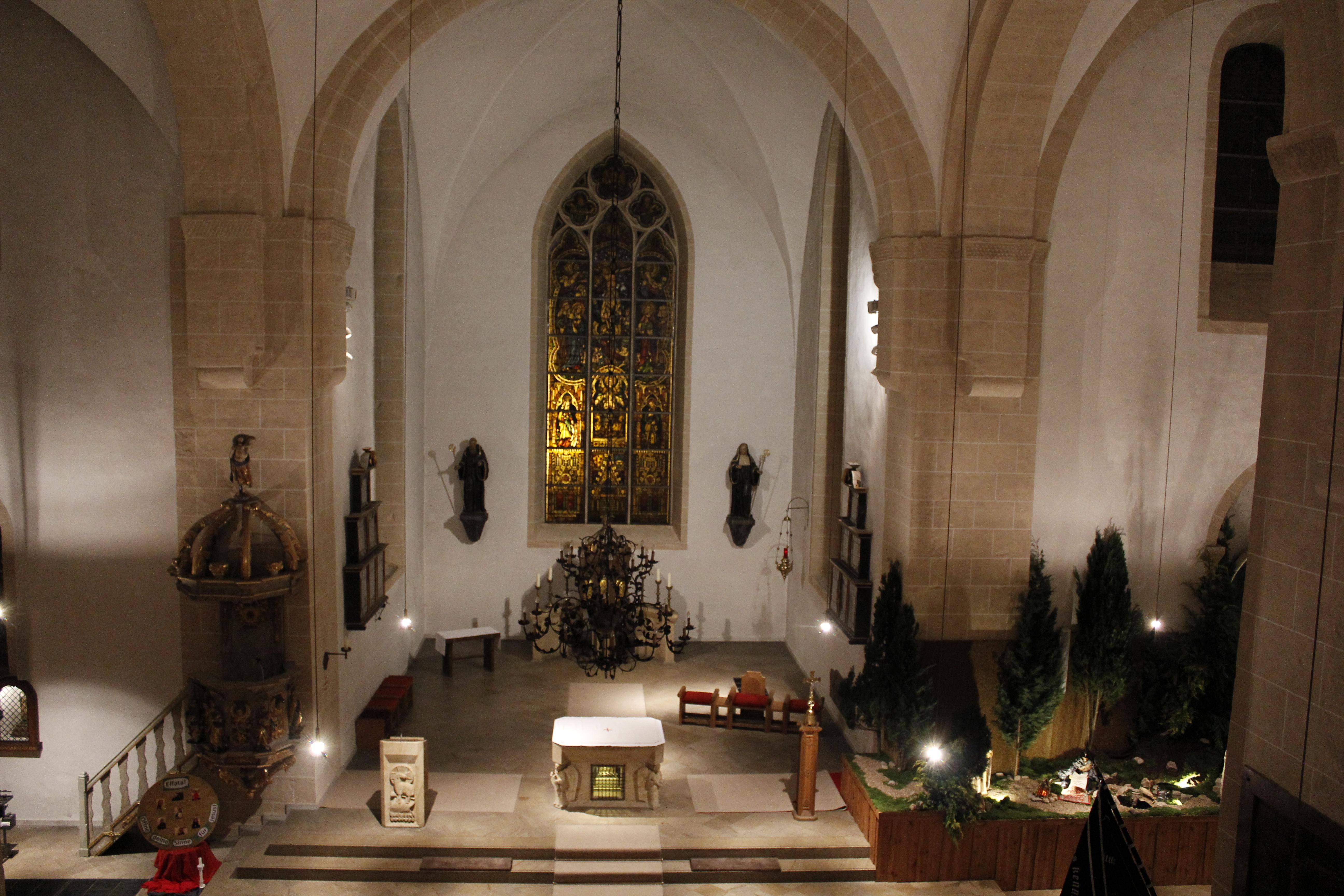 Innenraum Benediktinerinnenkloster