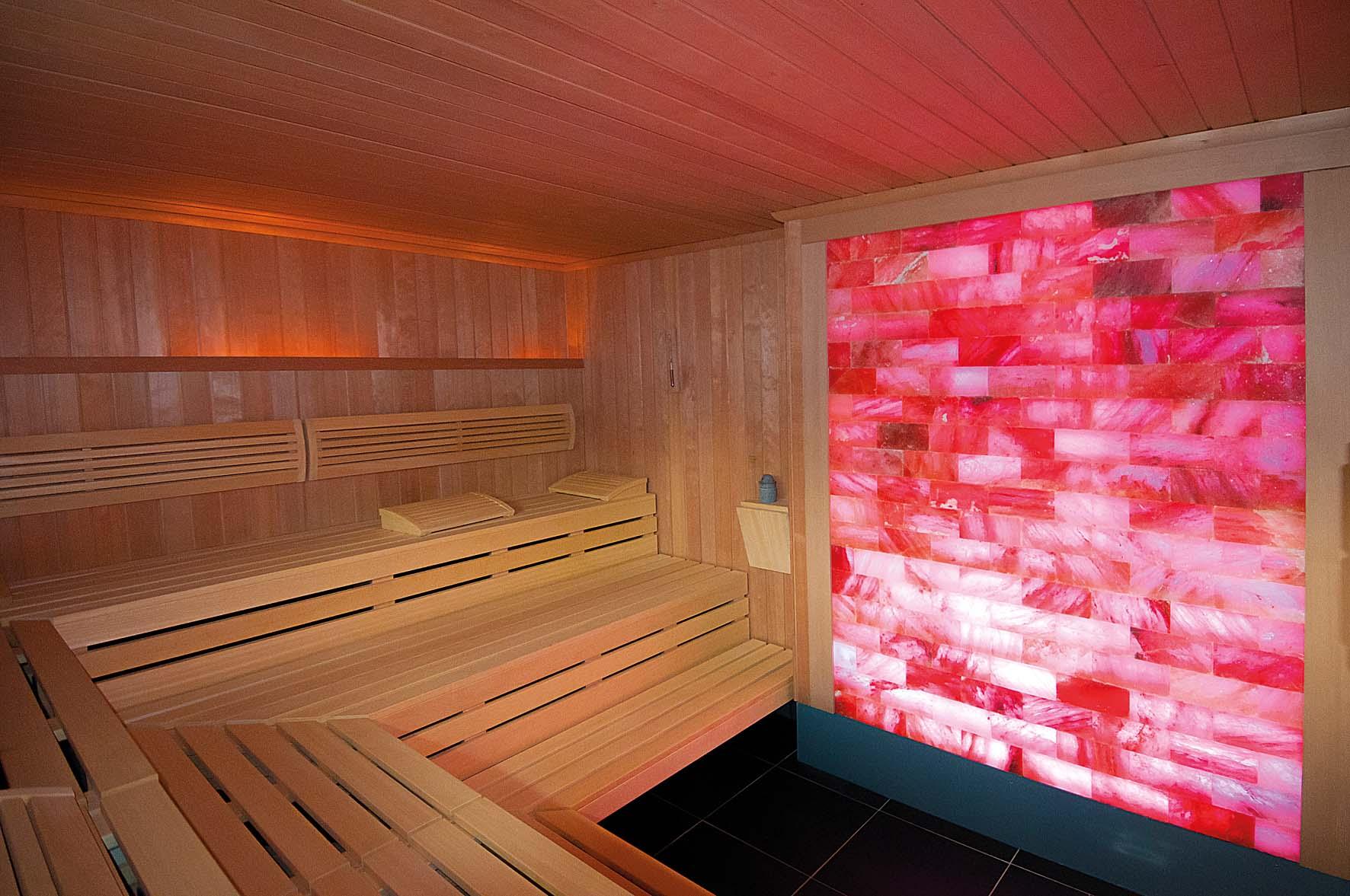 Salz-Sauna in der Driburg Therme