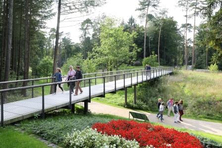 Dünenbrücke im Gartenschau-Gelände Bad Lippspringe